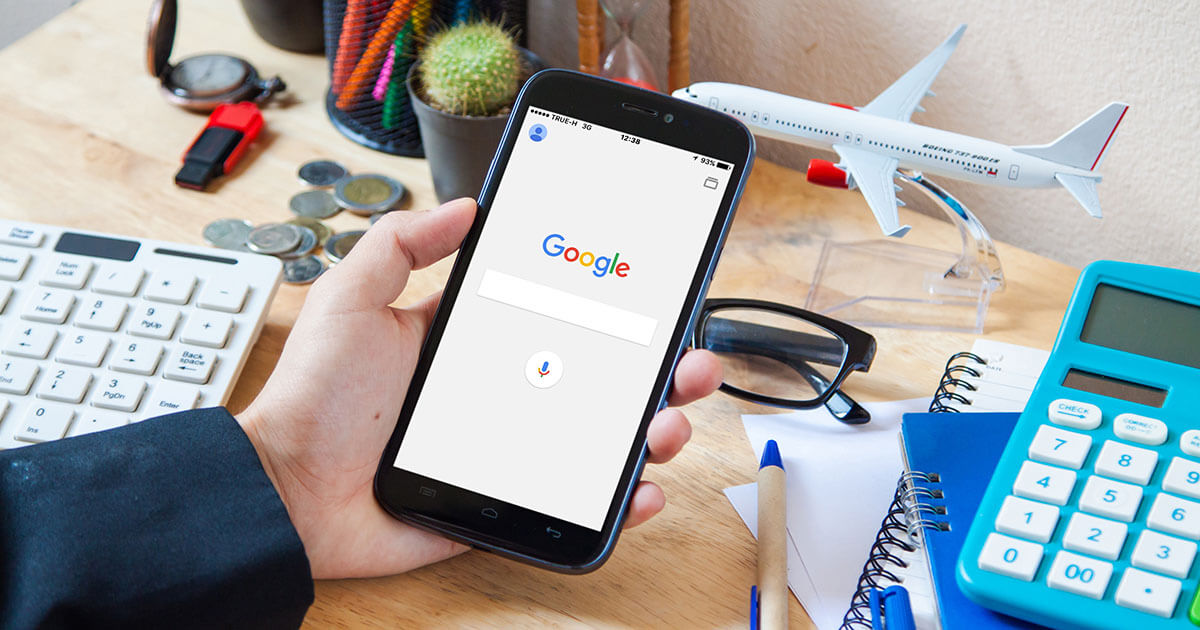 The Google evolution: Mobile search results