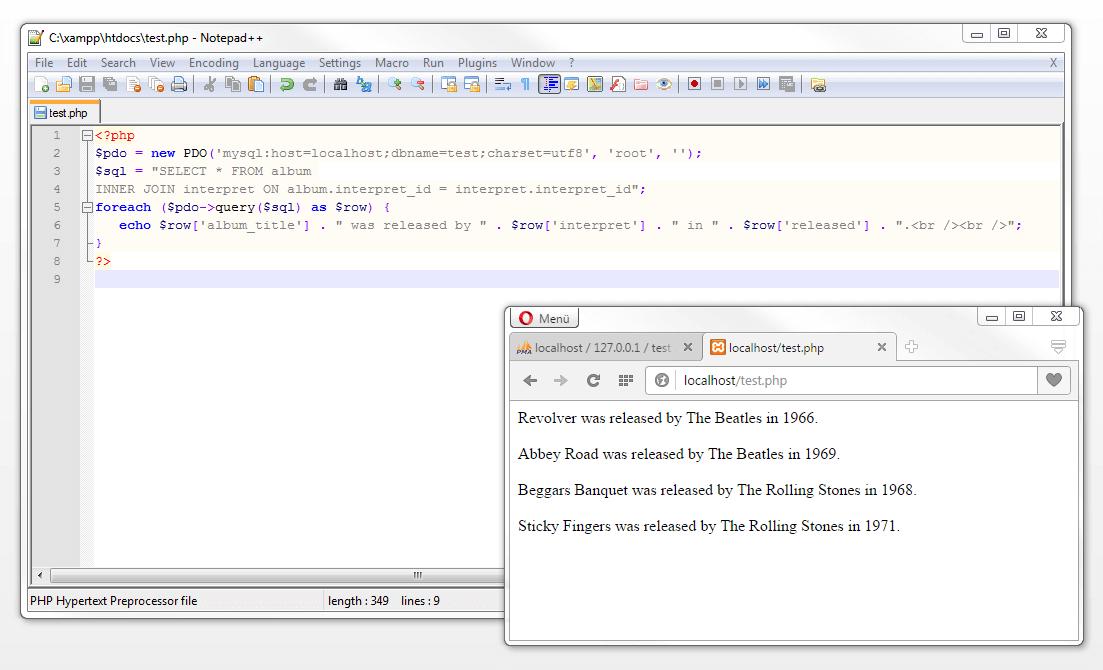 Learn MySQL in simple steps - 1&1