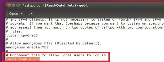 Ubuntu FTP server: Installation and configuration - 1&1 IONOS