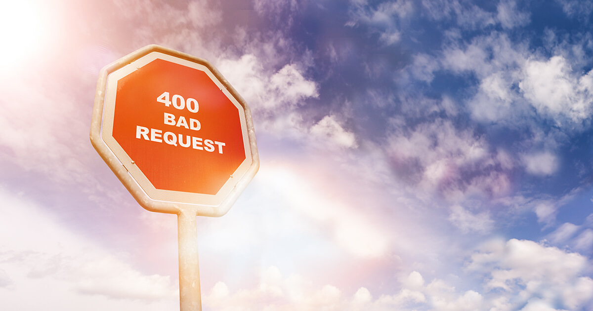 HTTP 400 Error Bad Request | Meaning \u0026 how to fix it - 1\u00261 IONOS
