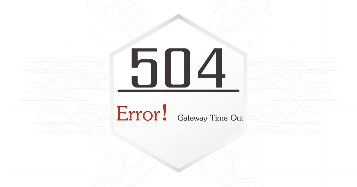 504 Gateway Timeout: How to fix HTTP Error 504 - 1&1 IONOS