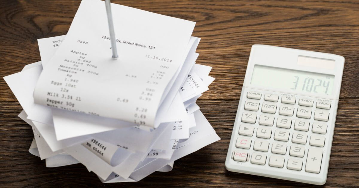 how to prepare receipts for accountant