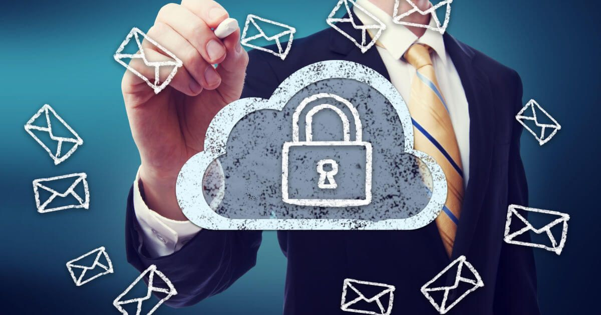 Email encryption with SSL